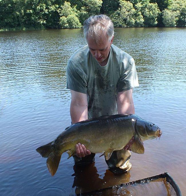 juin 2015 oliver carpe de 13 kg